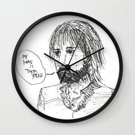 thom the yorke Wall Clock
