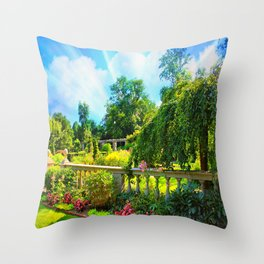 The Beauty Of Nature Throw Pillow
