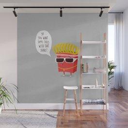 Douche Fries Wall Mural