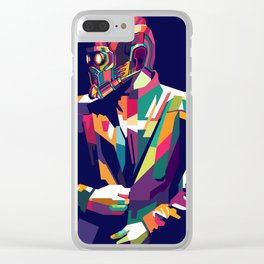 Star Lord WPAP Clear iPhone Case