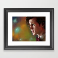 'Ancient and Forever' - (Doctor Who) Framed Art Print