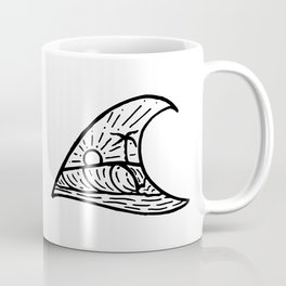 Wave in a Wave Coffee Mug