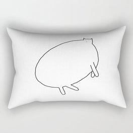 Cat 90 Rectangular Pillow