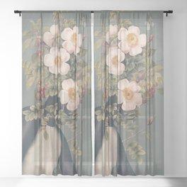 Blooming6 Sheer Curtain