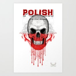 To The Core Collection: Poland Art Print