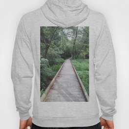 Wooden Pathway Hoody