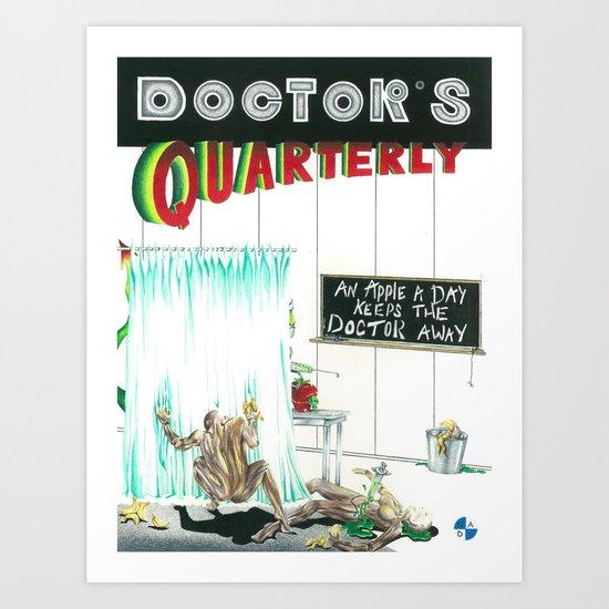 Doctor's Quarterly No. 6 Art Print