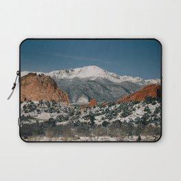 Snowy Mountain Tops Laptop Sleeve