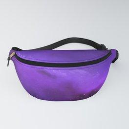 Purple Galaxy Fanny Pack