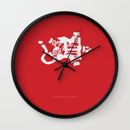 What if I Fall off the Roof? -The Santa Clause Wall Clock