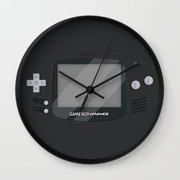 Gameboy Advance - Black Wall Clock