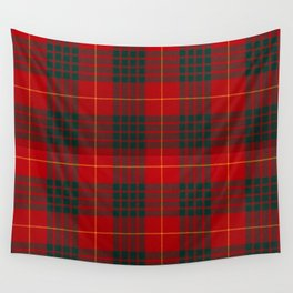 CAMERON CLAN SCOTTISH KILT TARTAN DESIGN Wall Tapestry