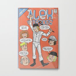 Bargain Bin: A Clockwork Orange Metal Print