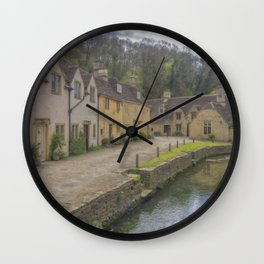 Castle Combe. Wall Clock