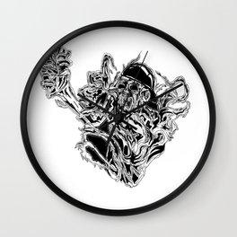 Heart of Darkness Wall Clock