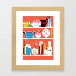 Let's Cook! Framed Art Print