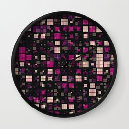 Small Geo Fun D Wall Clock
