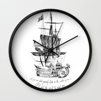 larry Wall Clocks featuring Larry tattooes by Drawpassionn