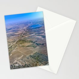 Superman's perspective Stationery Cards