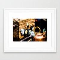 steampunk Framed Art Prints featuring SteamPunk by thliii