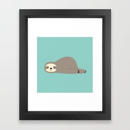 Do Nothing Framed Art Print