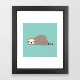 Do Nothing Framed Art Print