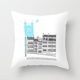 Lyon, France Throw Pillow