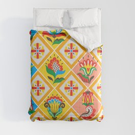 colourfull pattern Comforters