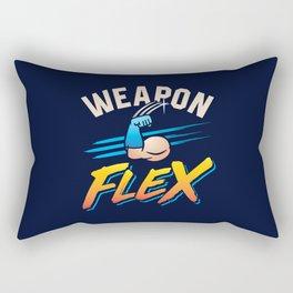 Weapon Flex Rectangular Pillow