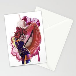 Worship the romance Stationery Cards