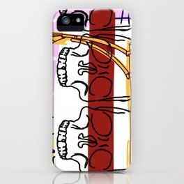 3 Knuckle Heads iPhone Case