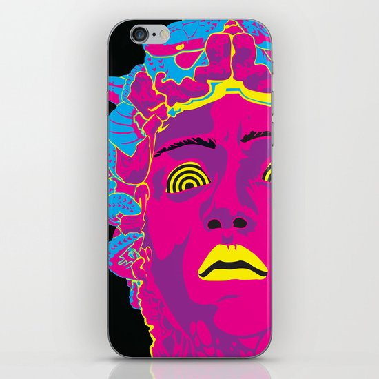 Medusa iPhone & iPod Skin