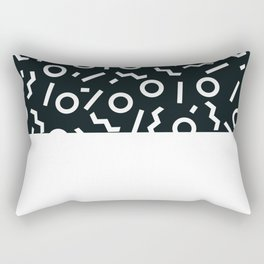 Memphis pattern 47 Rectangular Pillow
