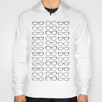 frames Hoodies featuring Hipsters Wear Frames by PintoQuiff