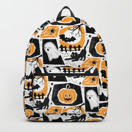 Beware of the Cat -Pattern Backpack