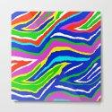Rainbow Zebra Pattern by saundramyles