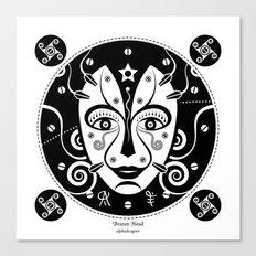 Brazen Head Canvas Print