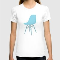 eames T-shirts featuring EAMES Ray & Charles Eames Molded Side Chair by Be Kindly