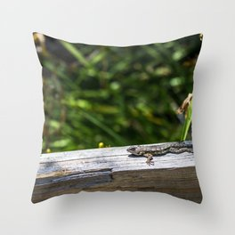 Hide Right Here Throw Pillow