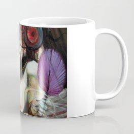 Au Seuil De Ma Mort, S'Ouvrit L'Oeil Du Minotaure (detail) Coffee Mug