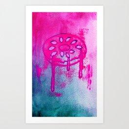 Donut Series 1 Art Print