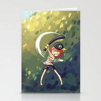 baseball Stationery Cards featuring Baseball by Freeminds