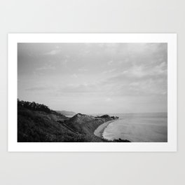Picture Perfect Rincon Point  Art Print