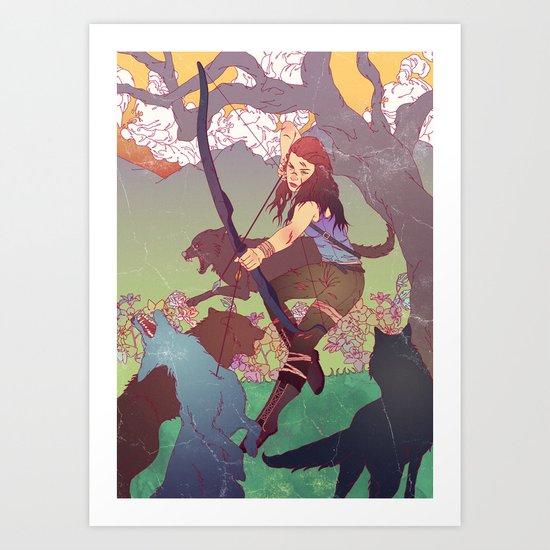 A Survivor is Born Art Print
