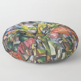 Aristarkh Lentulov - A Ballet Theme Floor Pillow