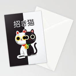 YinYang Twins Stationery Cards