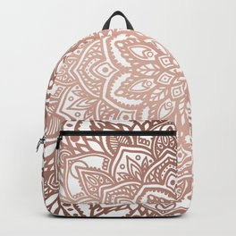 Rosegold Multi Mandala Backpack