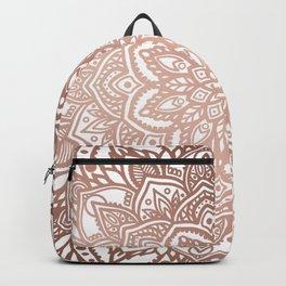 Rosegold Multi Mandala Backpack