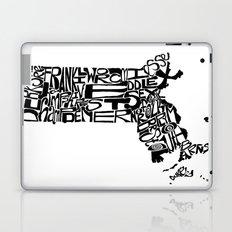 Typographic Massachusetts Laptop & iPad Skin