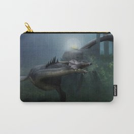 A castle in the ocean Carry-All Pouch